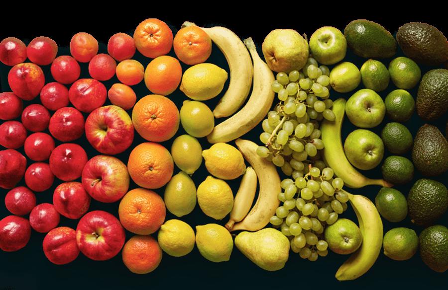 montaje frutas