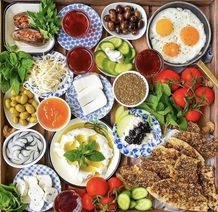 montaje comida saludable